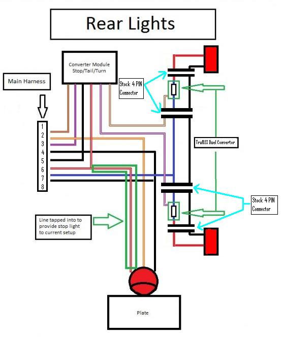 93 isuzu tail light wiring diagram
