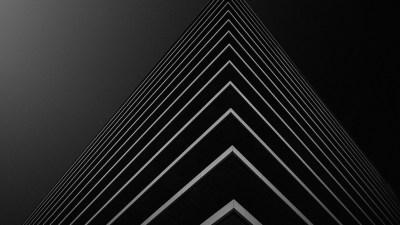 Building Corner in Black Background 4K Wallpaper | HD Wallpapers