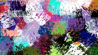 Colorful Abstract Paint HD Wallpaper Background