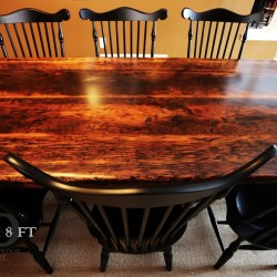 Reclaimed Wood Harvest Table Set in Acton Ontario Blog
