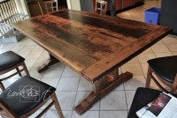 Reclaimed Dining Table Farmhouse Ontario Gerald Reinink ...