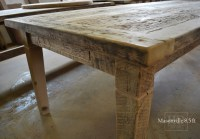 Reclaimed Wood Harvest Table Mississauga, Ontario | Blog