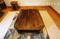 Coffee Table Rounded Edges - The Coffee Table