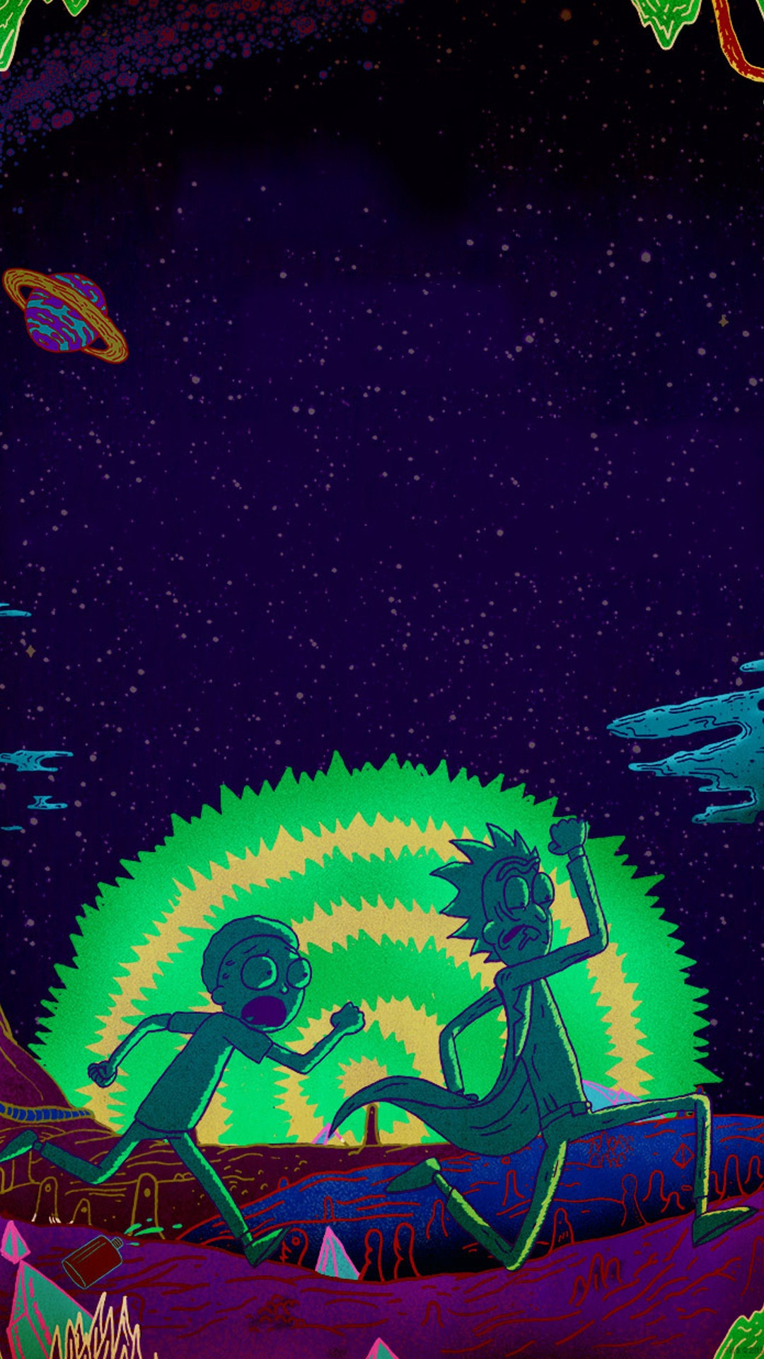 Rick And Morty Wallpaper Iphone Fondos De Pantalla Gratis