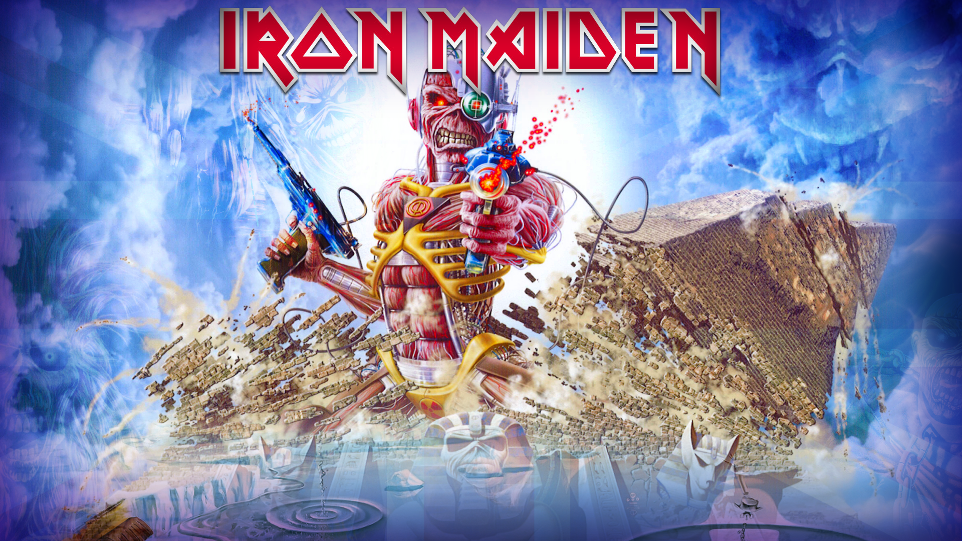 Nature Hd Wallpaper Widescreen 3d Iron Maiden Wallpapers Pictures Images
