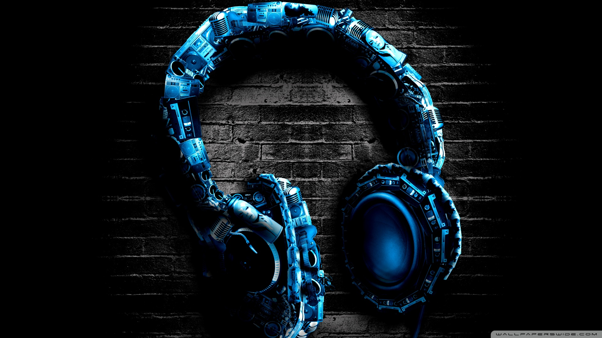 3d Wallpaper Iphone 4 Headphone Wallpapers Pictures Images