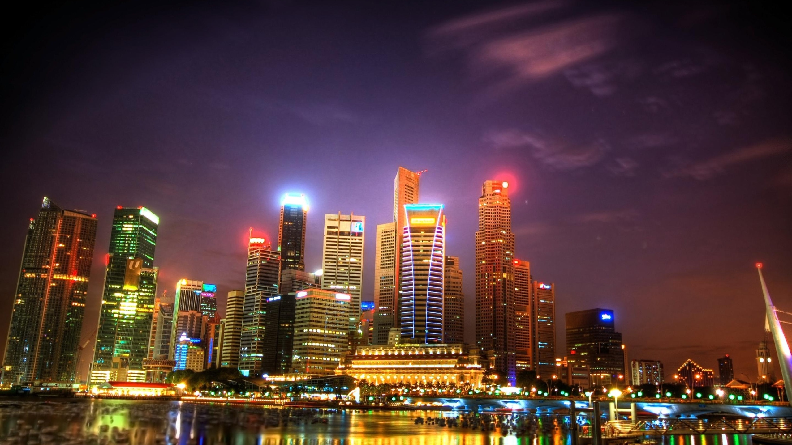 City Skyline Wallpaper Iphone Singapore Wallpapers Pictures Images