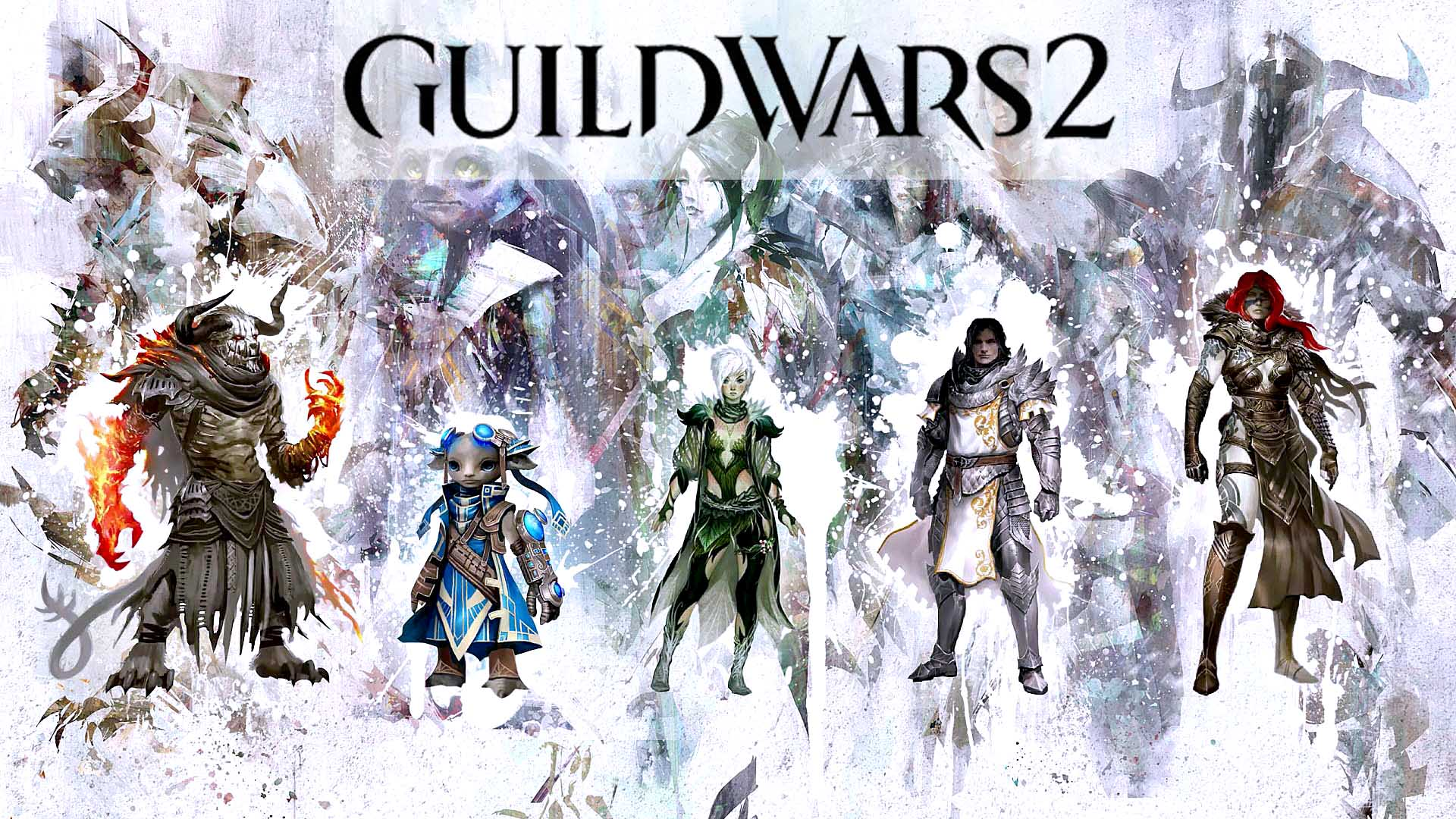 Black And White Iphone Wallpaper Guild Wars 2 Wallpapers Pictures Images