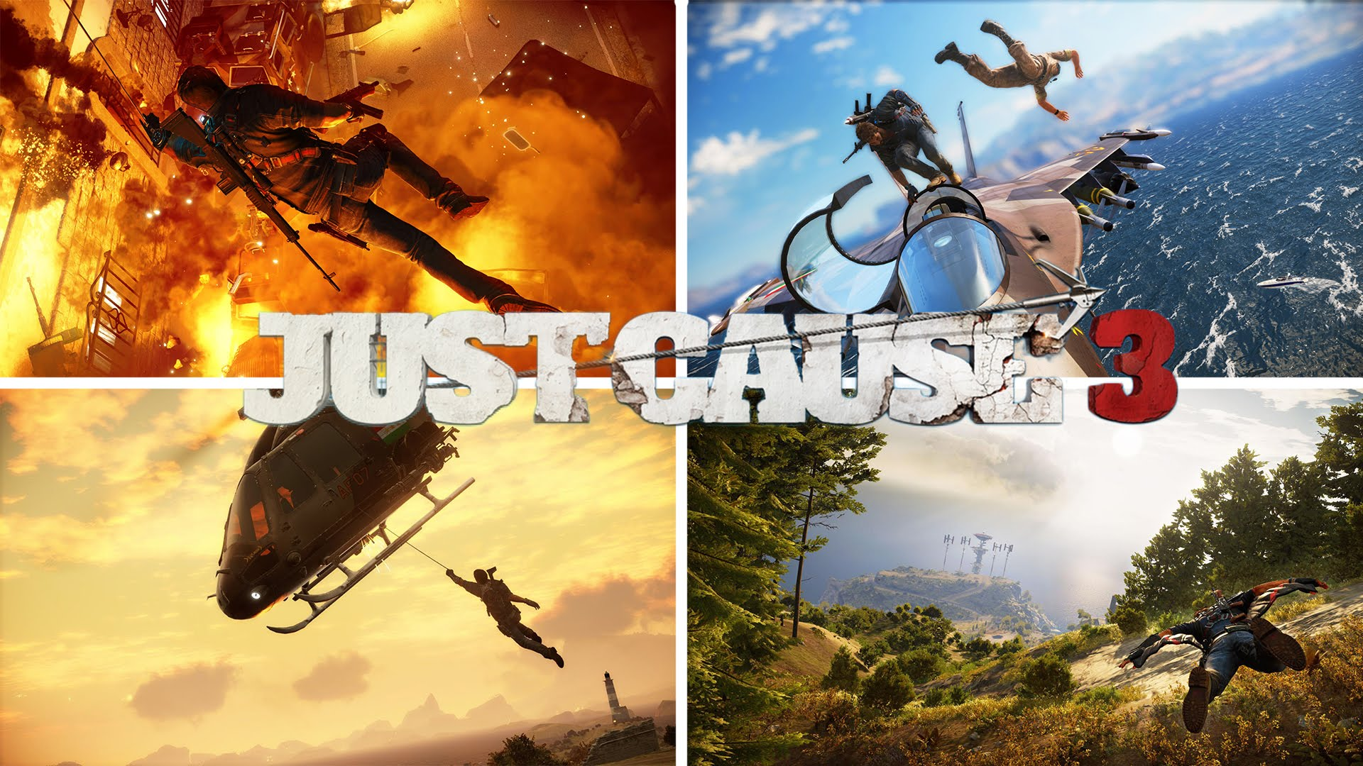 Wallpaper Dual Screen Full Hd Just Cause 3 Wallpapers Pictures Images