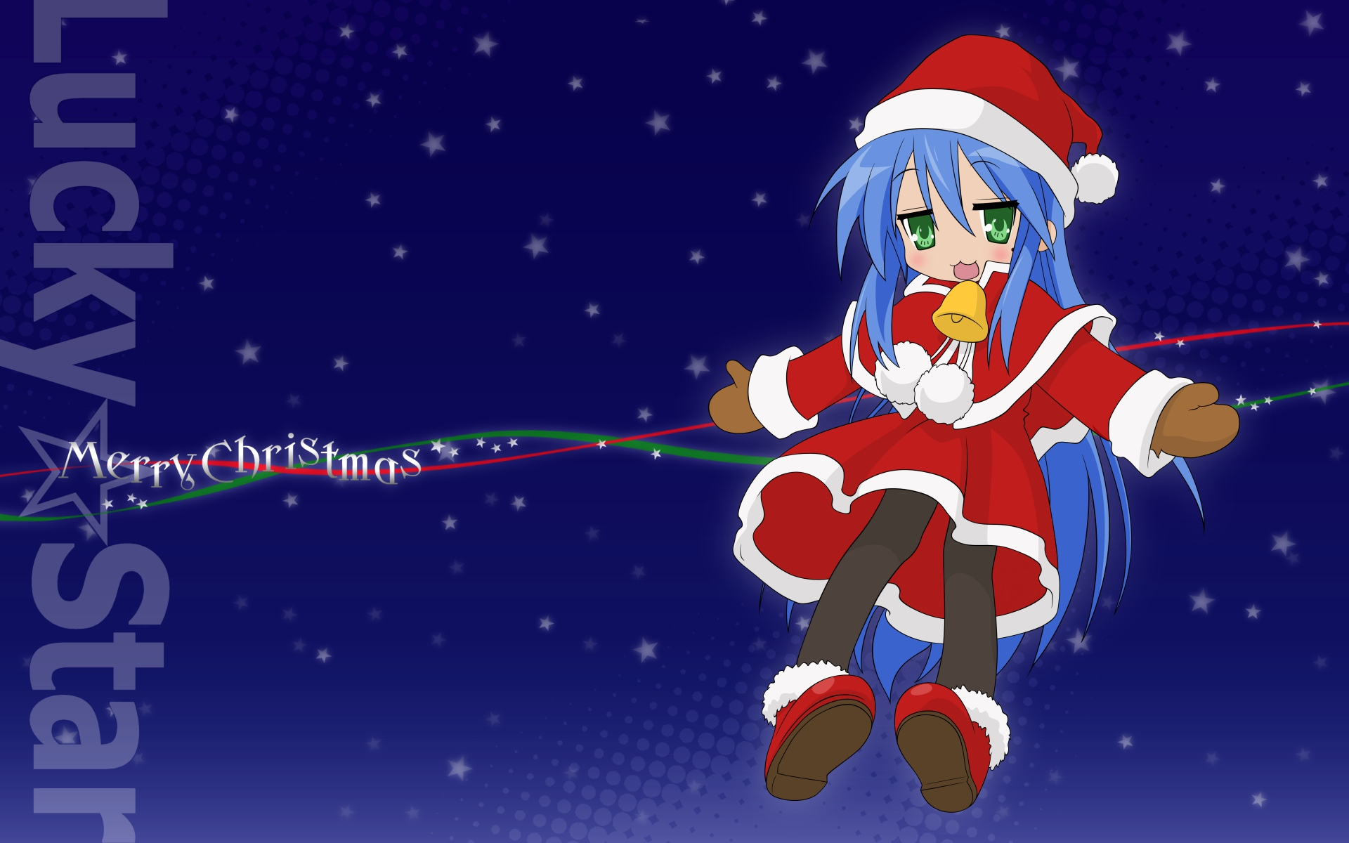Santa Claus Girl Wallpaper Lucky Star Wallpapers Pictures Images