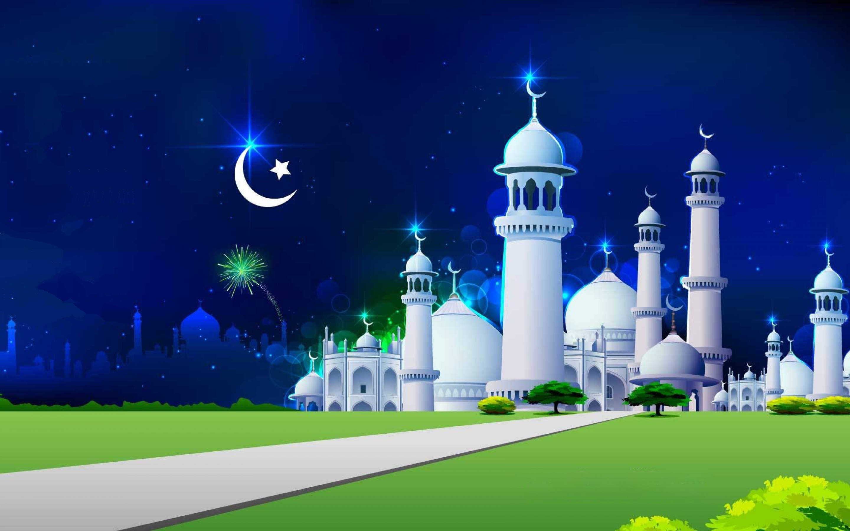 3d Wallpaper Of Madina Mosque Wallpapers Pictures Images