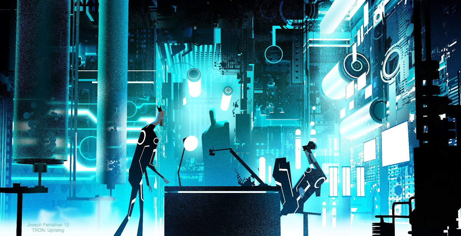 Hacker Iphone Wallpaper Tron Uprising Wallpapers Pictures Images