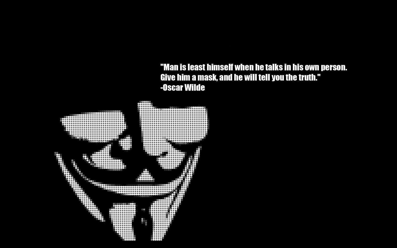 V For Vendetta Quotes Iphone Wallpaper Anonymous Wallpapers Pictures Images