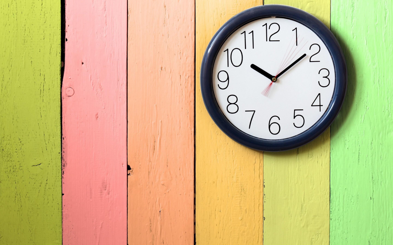 clock widescreen wallpaper download