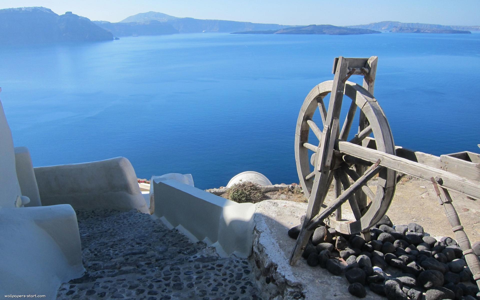 Hd Santorini Wallpaper Santorini Wallpapers Pictures Images
