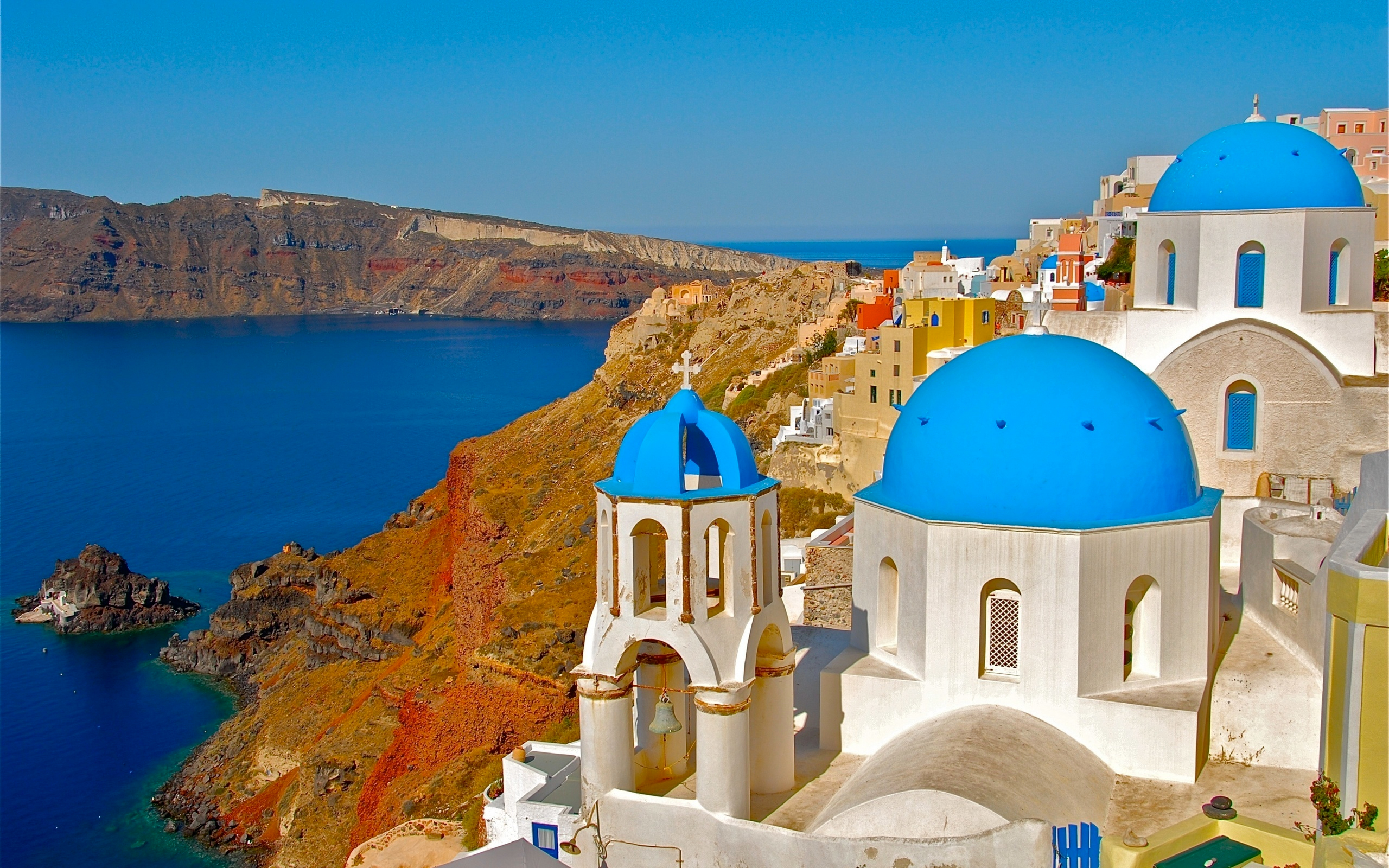 Hd Wallpaper Of World Santorini Wallpapers Pictures Images