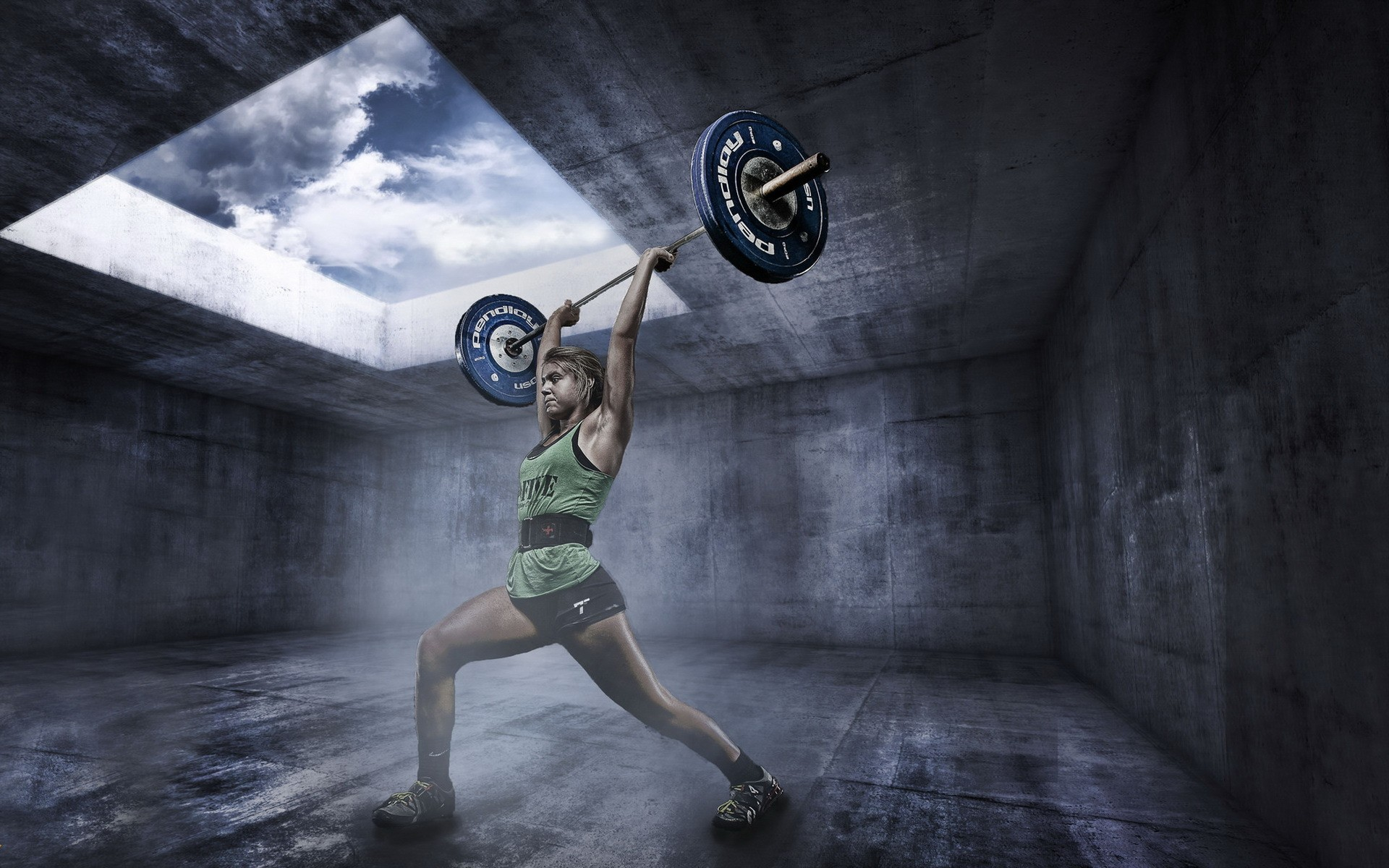 Crossfit Wallpaper Girls Weightlifting Wallpapers Pictures Images