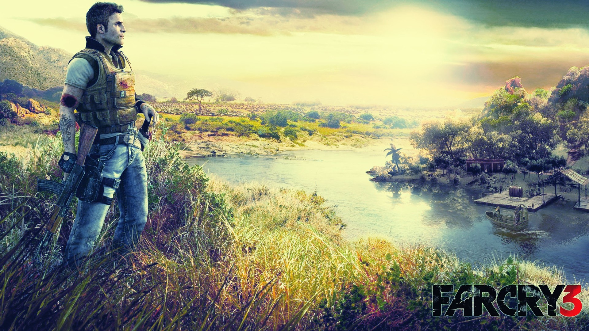 Love Wallpaper Hd 3d 2012 Far Cry 3 Wallpapers Hd Wallpapers Id 10577
