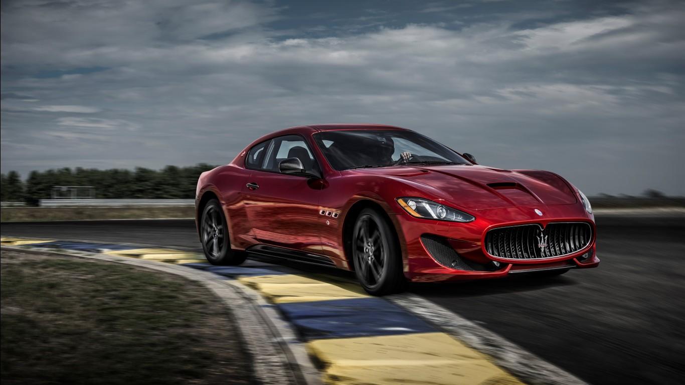 Red Car Wallpaper Download 2017 Maserati Granturismo Gt Sport Special Edition 4k