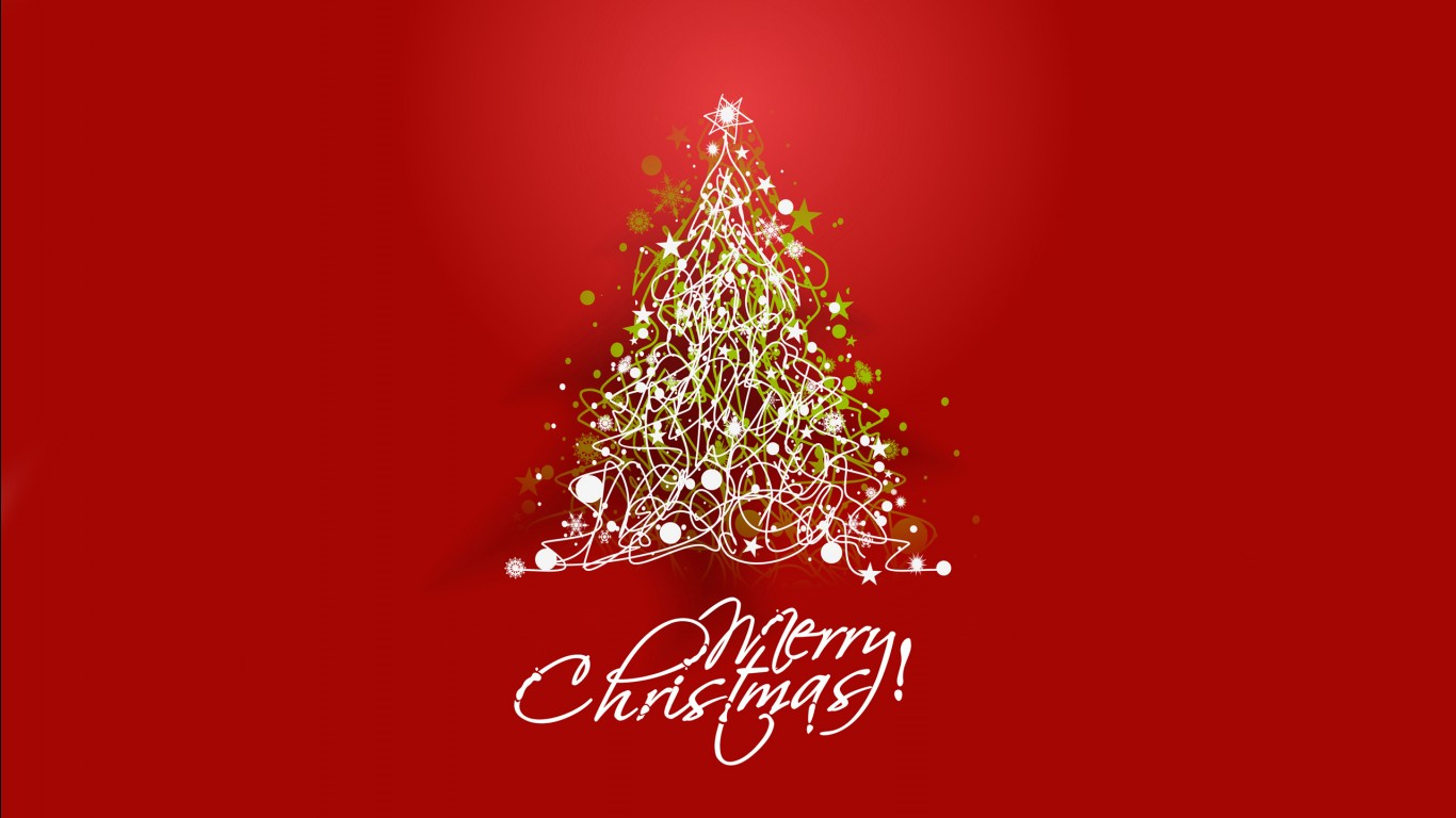 Happy Christmas Wallpaper 3d 2017 Merry Christmas Wallpapers Hd Wallpapers Id 19367