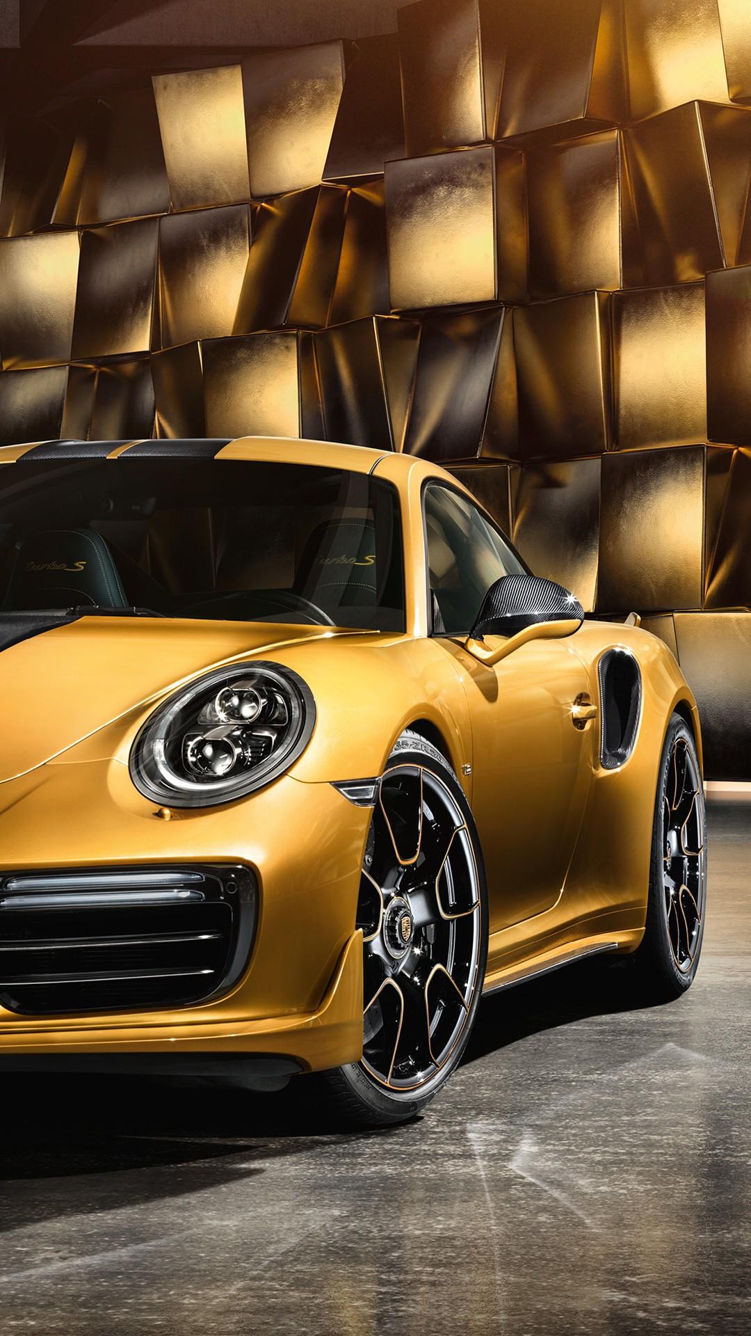 Gold Iphone X Wallpaper 2017 Porsche 911 Turbo S Exclusive Series Wallpapers Hd