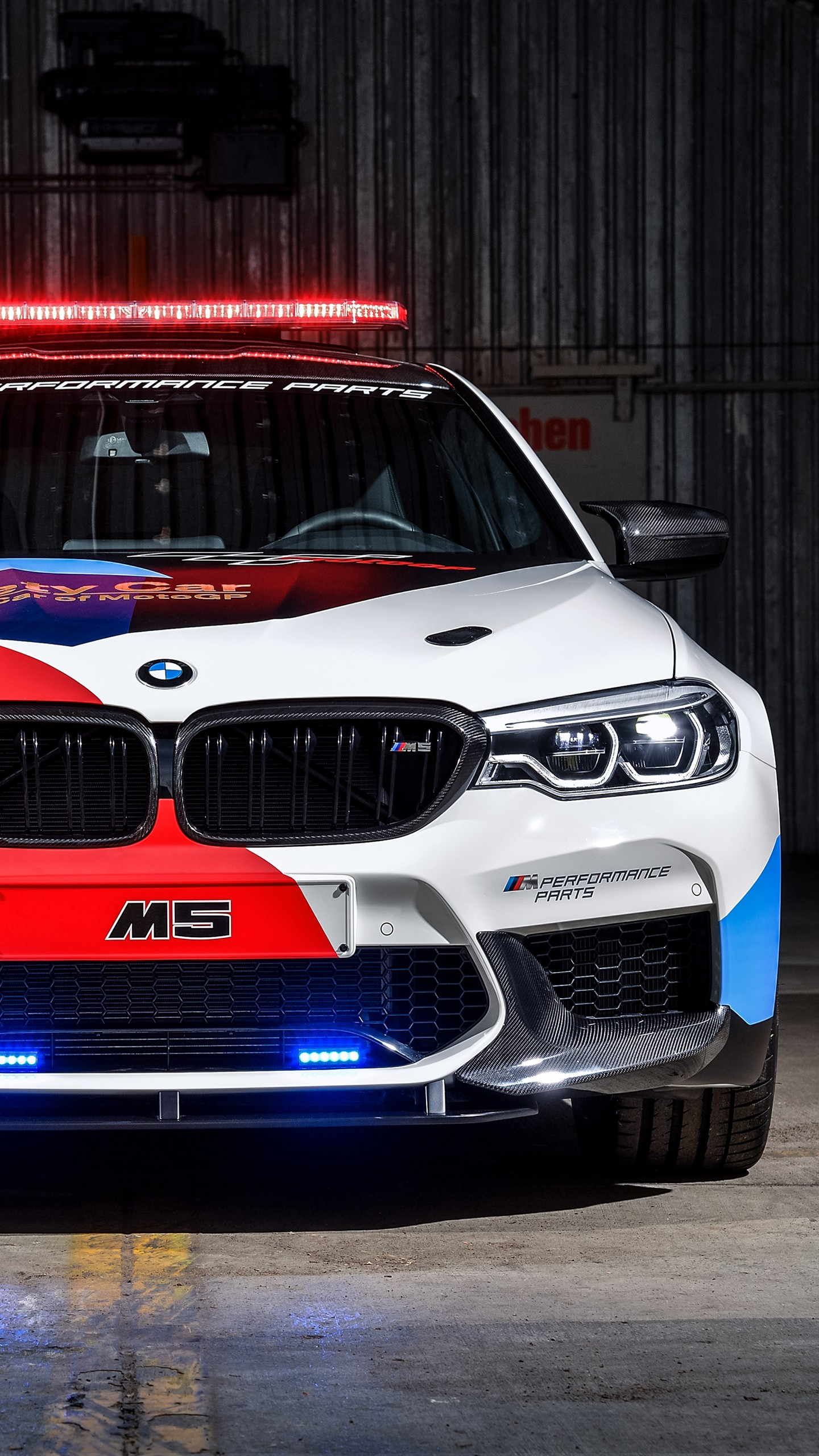 Full Hd Car Wallpapers For Android 2018 Bmw M5 Motogp Safety Car 4k Wallpapers Hd
