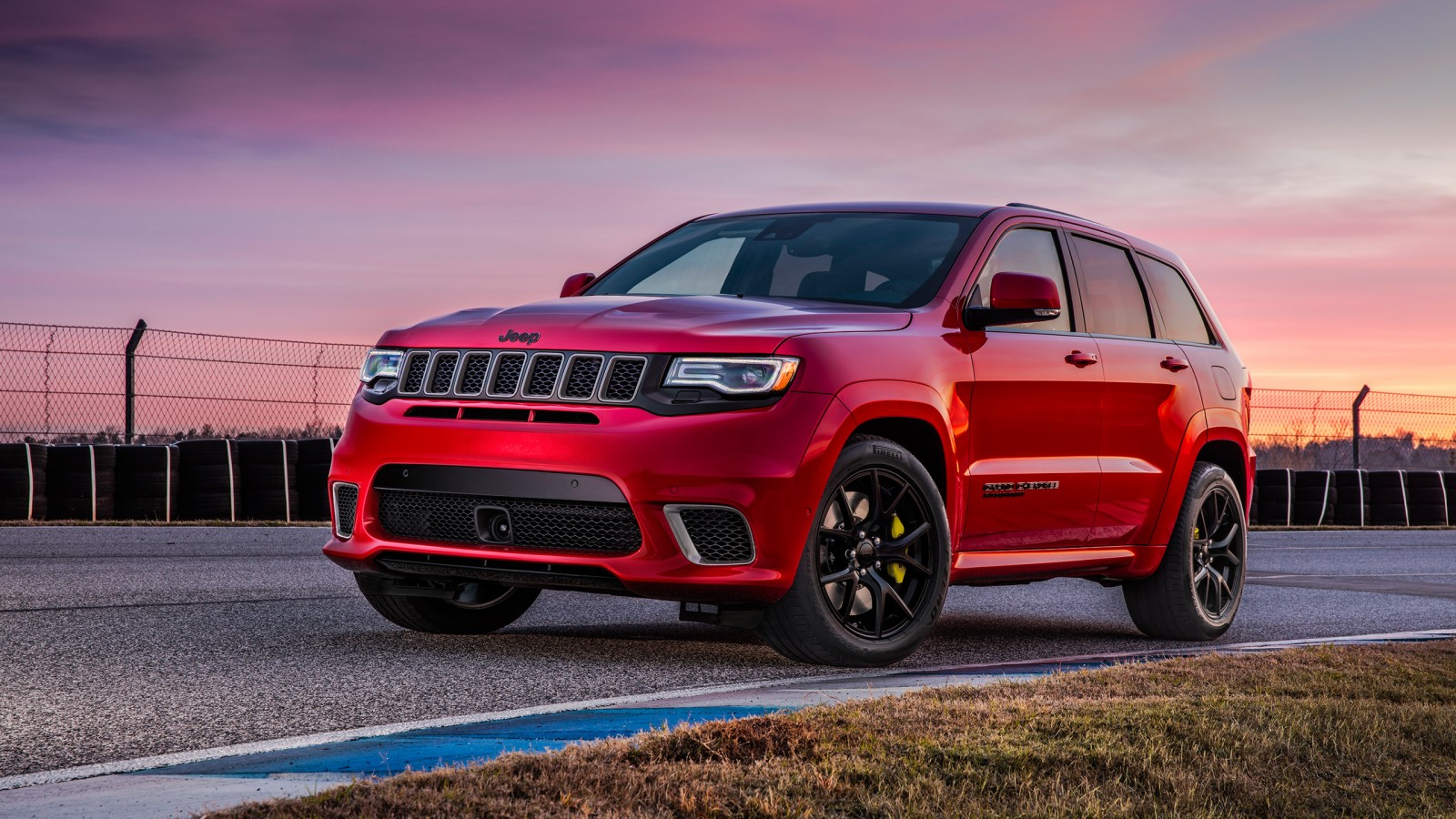 2018 jeep grand cherokee trackhawk wallpapers hd wallpapers