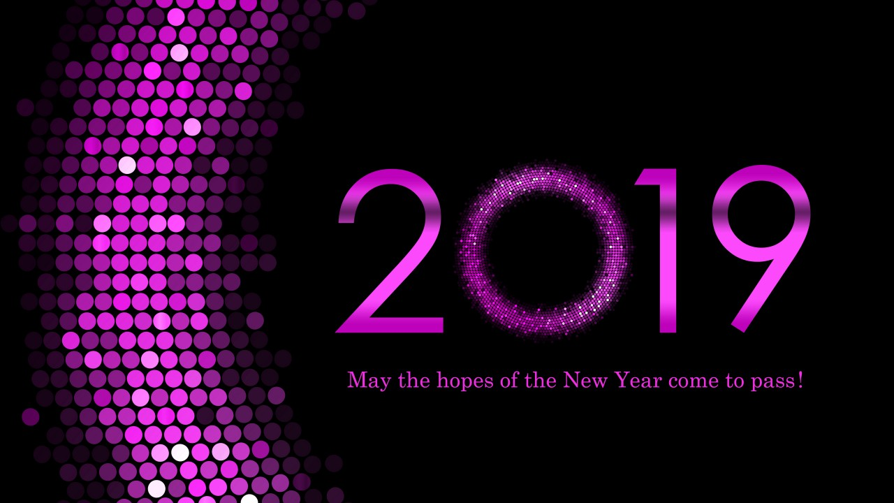 Pink Anime Wallpaper 2109 Happy New Year Wallpapers Hd Wallpapers Id 27141