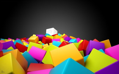 3D Colorful Squares Wallpapers | HD Wallpapers | ID #10494