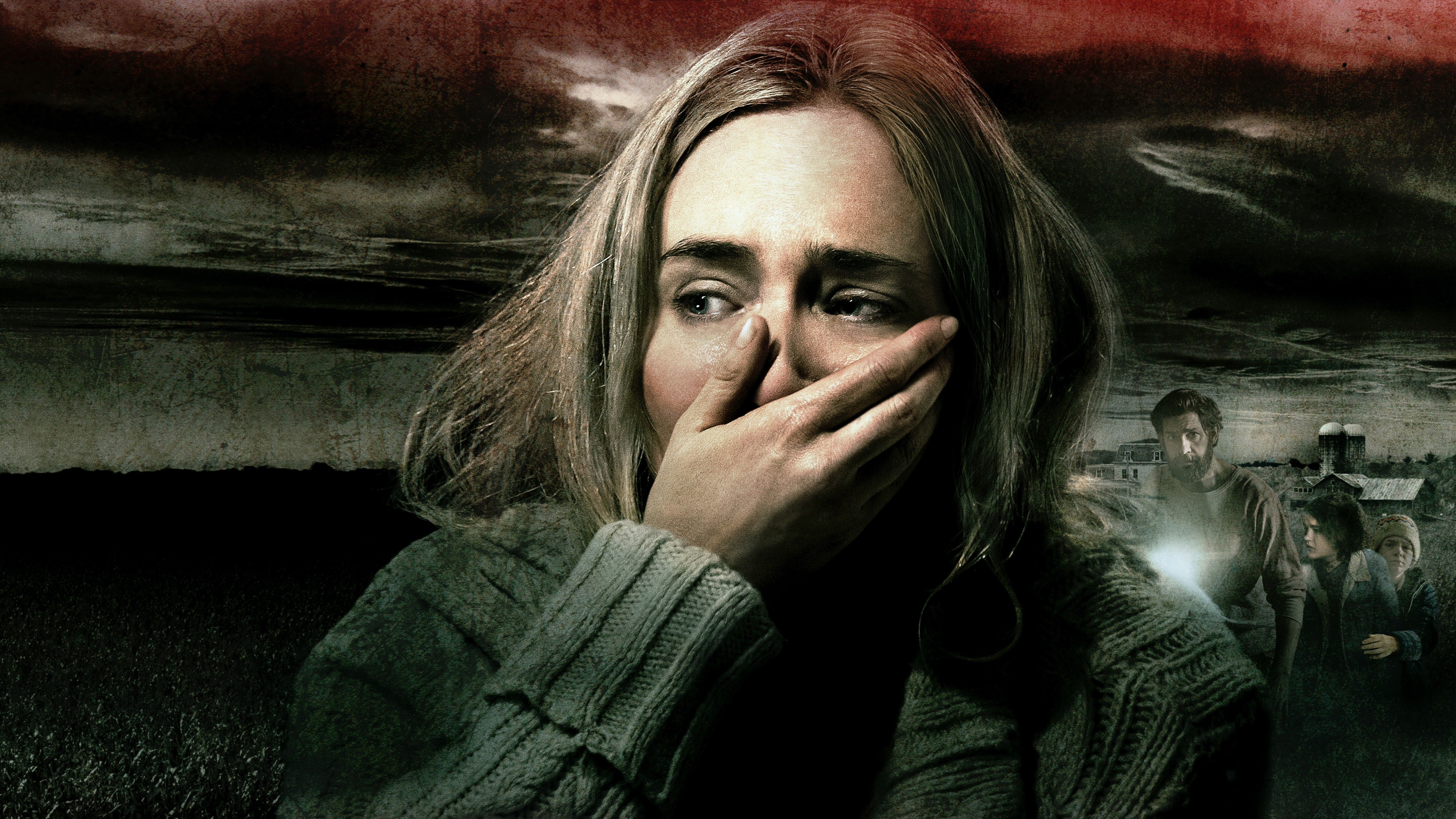 Cute Guy Iphone Wallpaper A Quiet Place Emily Blunt 4k 8k Wallpapers Hd Wallpapers
