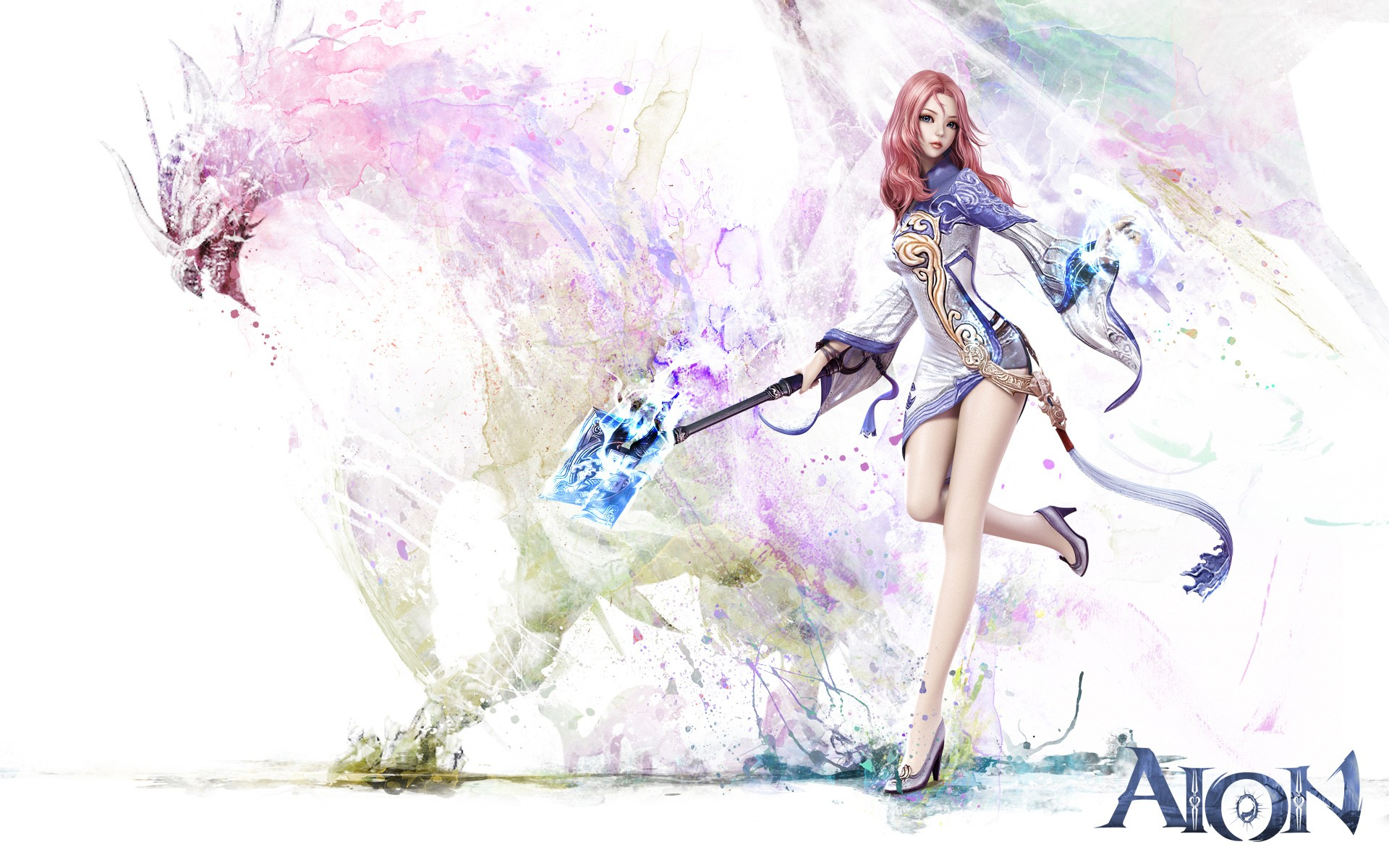 Fantasy Girl Wallpapers Pictures Aion Game Girl Wallpapers Hd Wallpapers Id 11825