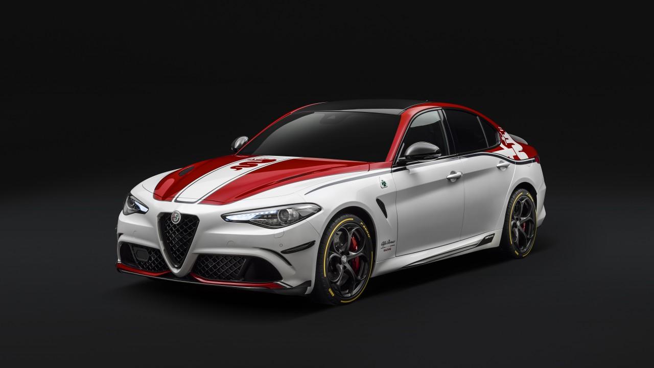 F1 Cars Wallpapers Desktop Alfa Romeo Giulia Quadrifoglio Alfa Romeo Racing 2019 5k