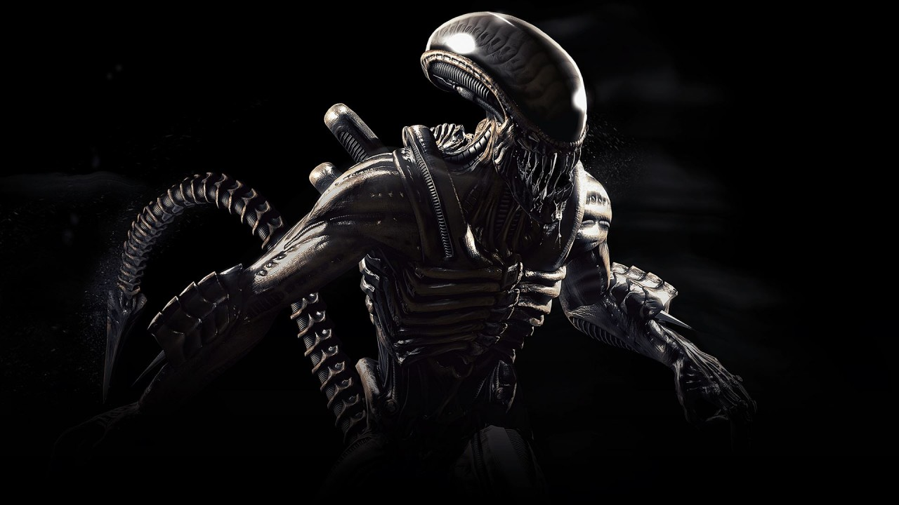Cute Alien Wallpaper Iphone Alien Mortal Kombat X Wallpapers Hd Wallpapers Id 17959