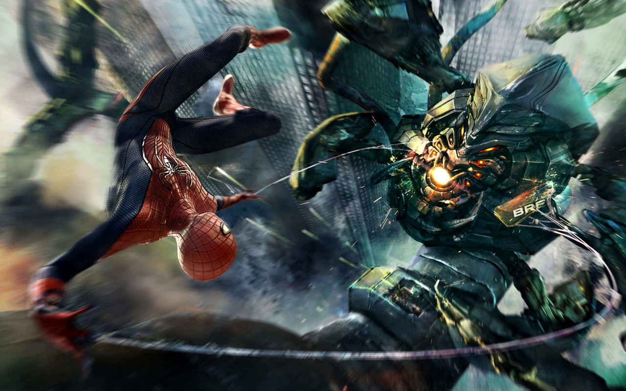 Amazing Wallpapers For Iphone 4 Amazing Spider Man Boss Fight Wallpapers Hd Wallpapers