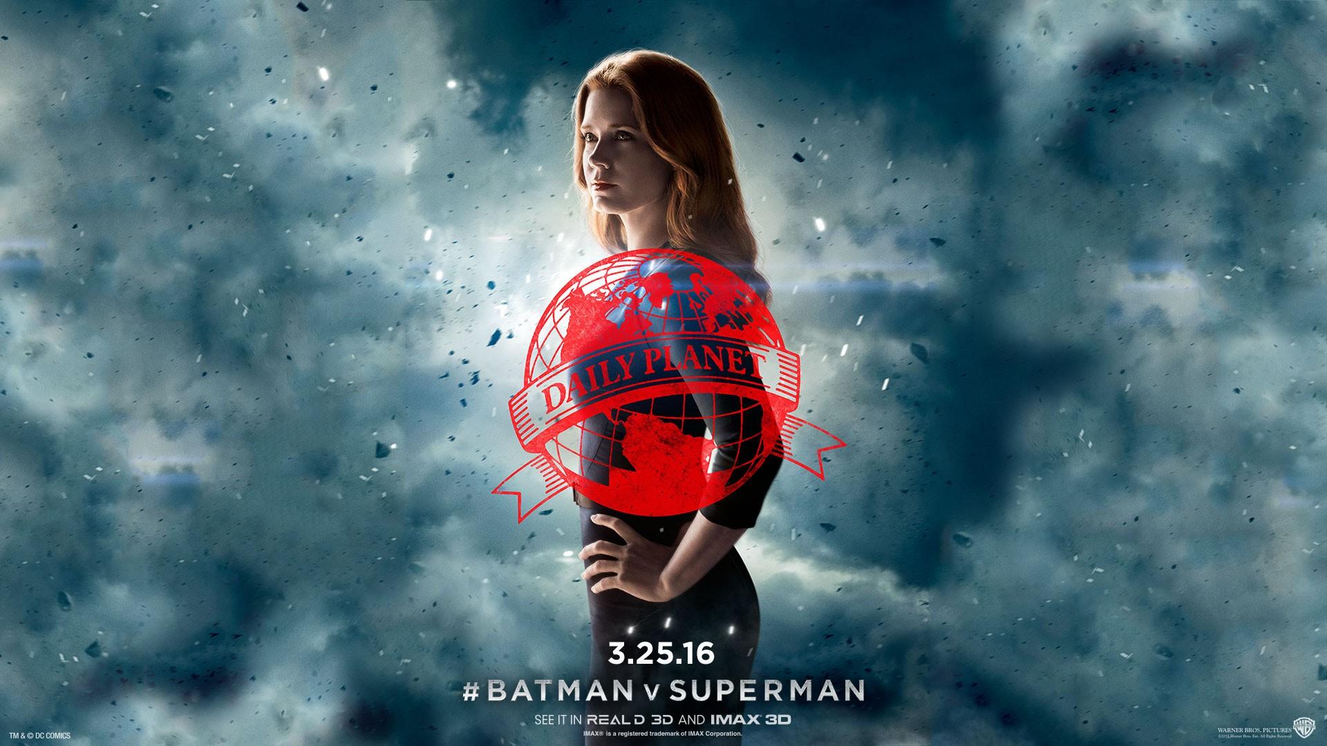 Download Wallpaper Superman 3d Amy Adams Lois Batman V Superman Wallpapers Hd