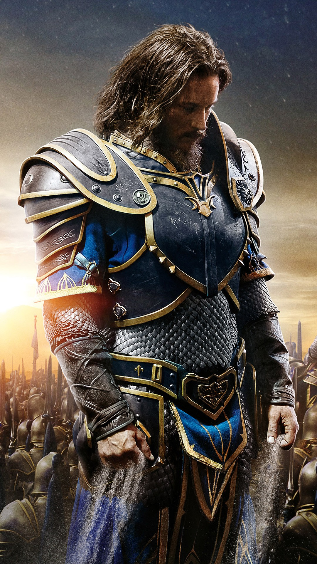3d Galaxy Wallpaper Desktop Anduin Lothar Warcraft Movie Wallpapers Hd Wallpapers