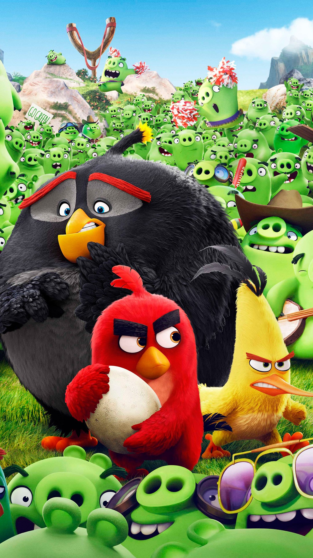Wallpaper Iphone 4 Cartoon Angry Birds Animation Movie Wallpapers Hd Wallpapers