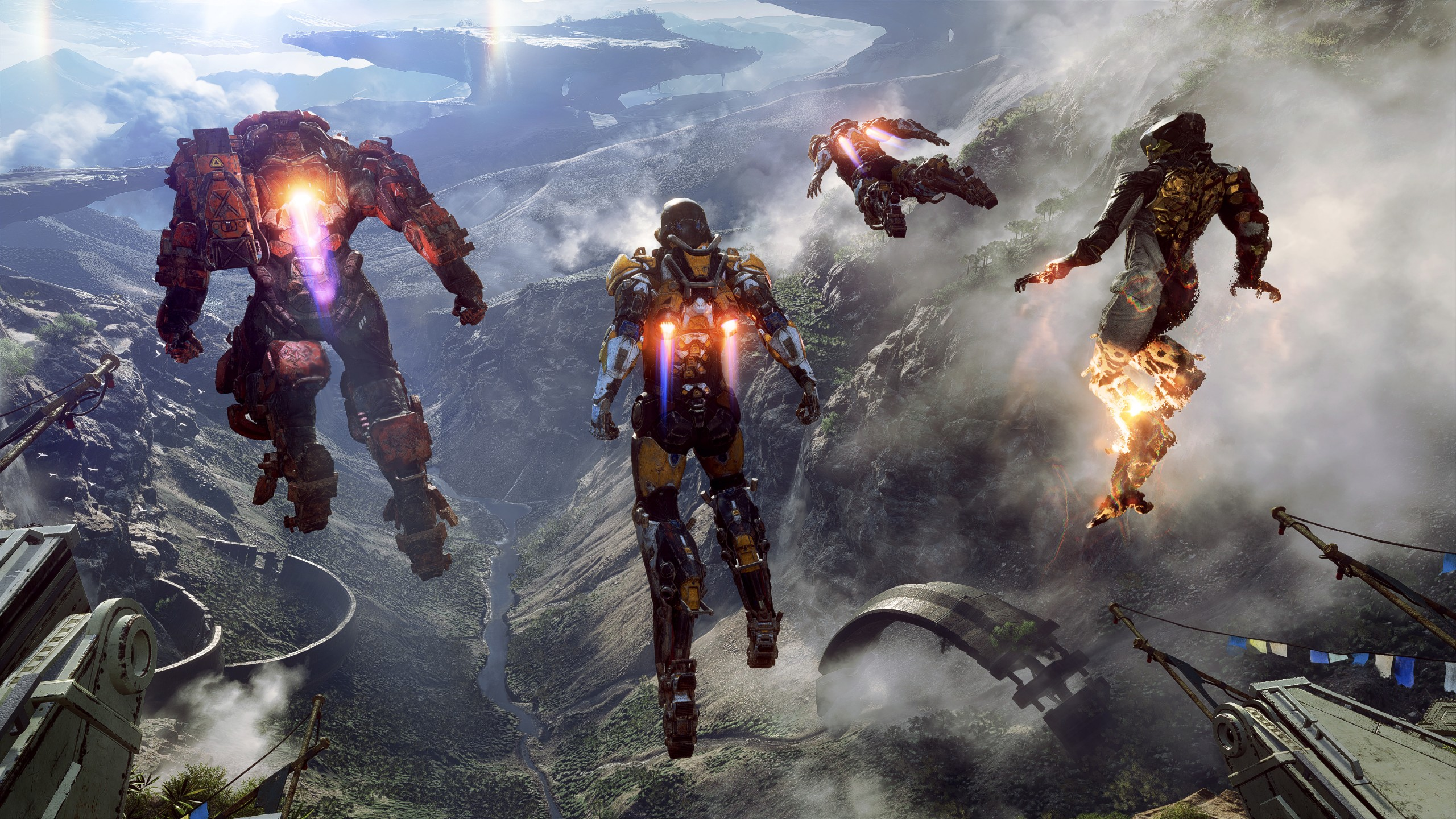 Ps4 Games Hd Wallpapers Anthem 2019 Game 4k Wallpapers Hd Wallpapers Id 24388