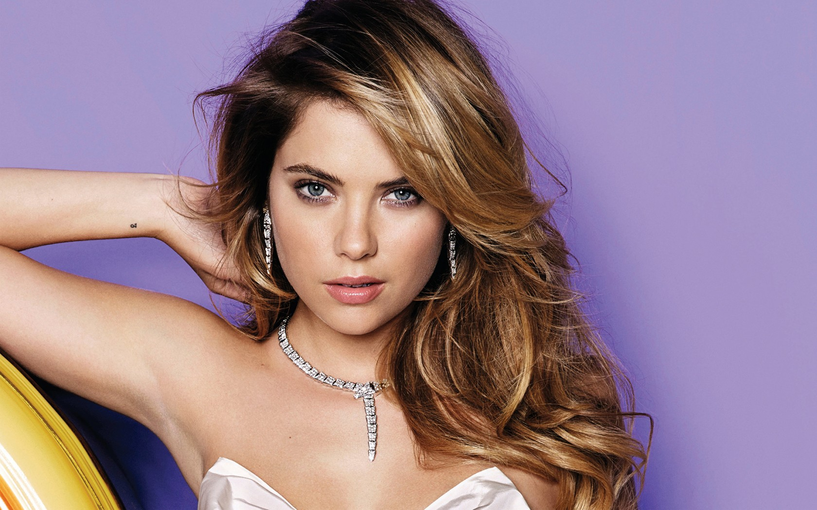 3d Wallpapers For Windows 7 1366x768 Ashley Benson 2015 Wallpapers Hd Wallpapers Id 16240