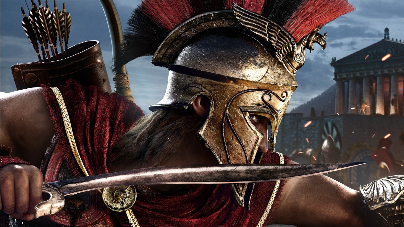 3d Hd Wallpapers For Windows 8 Assassin S Creed Odyssey E3 2018 4k 8k Wallpapers Hd
