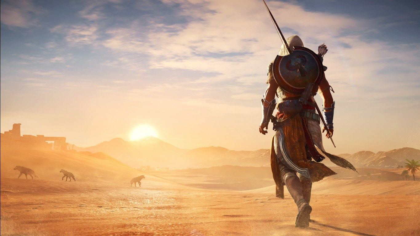 3d Hd Graphics Wallpapers Assassins Creed Origins Hot Desert 4k Wallpapers Hd