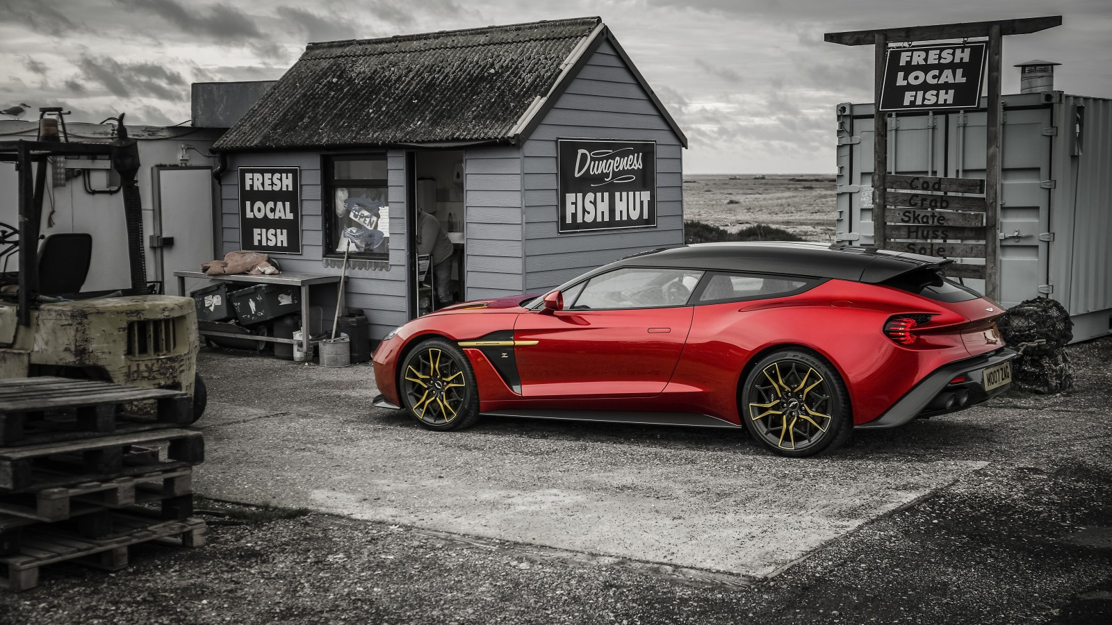 3d Beach Wallpaper Desktop Aston Martin Vanquish Zagato Shooting Brake 4k 8k
