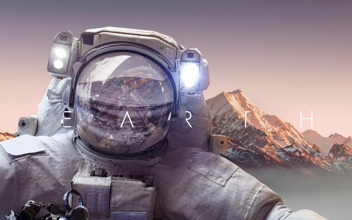 Universe 3d Wallpaper Astronaut Earth 4k Wallpapers Hd Wallpapers Id 22922