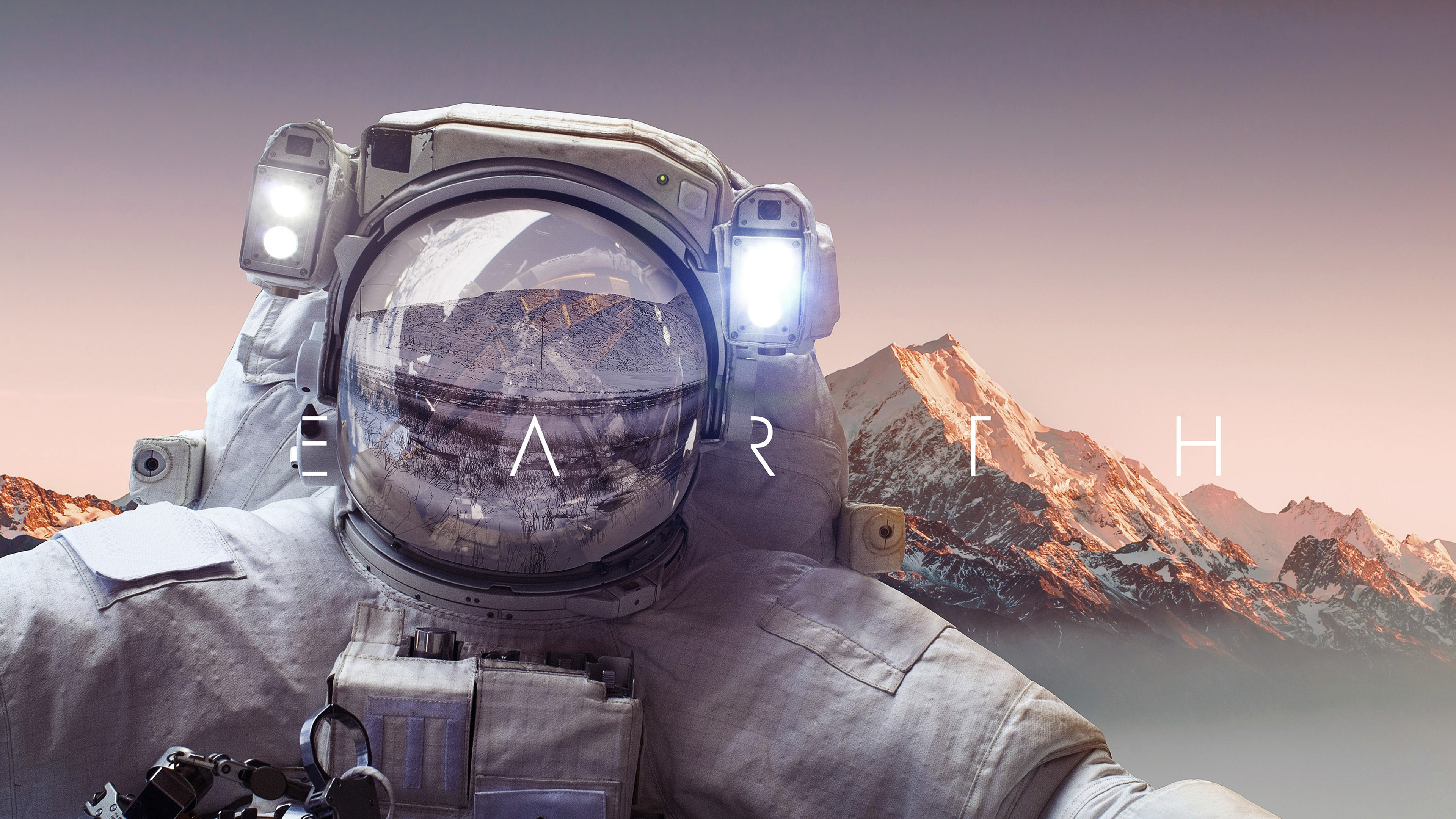 Astronaut Iphone Wallpaper Astronaut Earth 4k Wallpapers Hd Wallpapers Id 22922