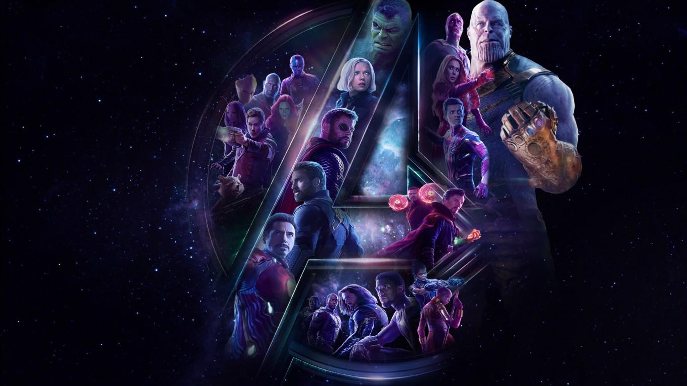 3d Wallpaper 1366x768 Hd Avengers Infinity War Hd Wallpapers Hd Wallpapers Id