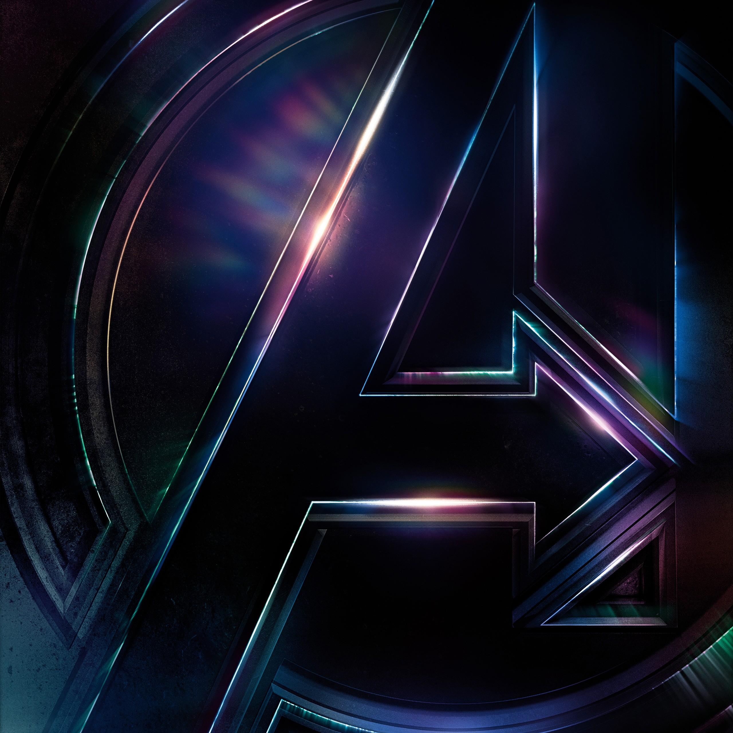 Iphone 8 Plus X Ray Wallpaper Avengers Infinity War Logo 4k Wallpapers Hd Wallpapers
