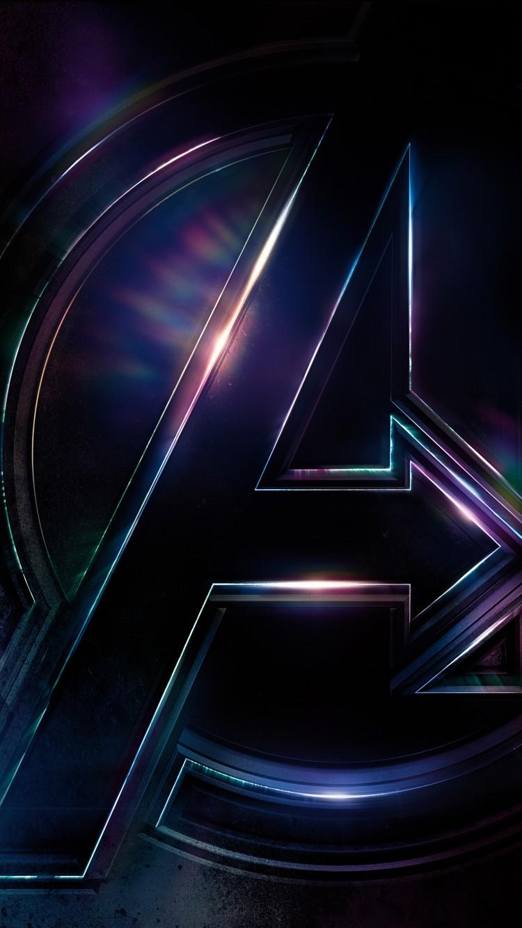 Wallpaper 4k For Phone Iphone X Avengers Infinity War Logo 4k Wallpapers Hd Wallpapers