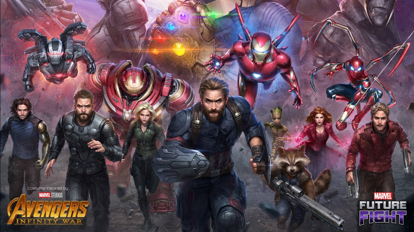 Marvel Superheroes 3d Wallpapers Avengers Infinity War Superheroes Wallpapers Hd