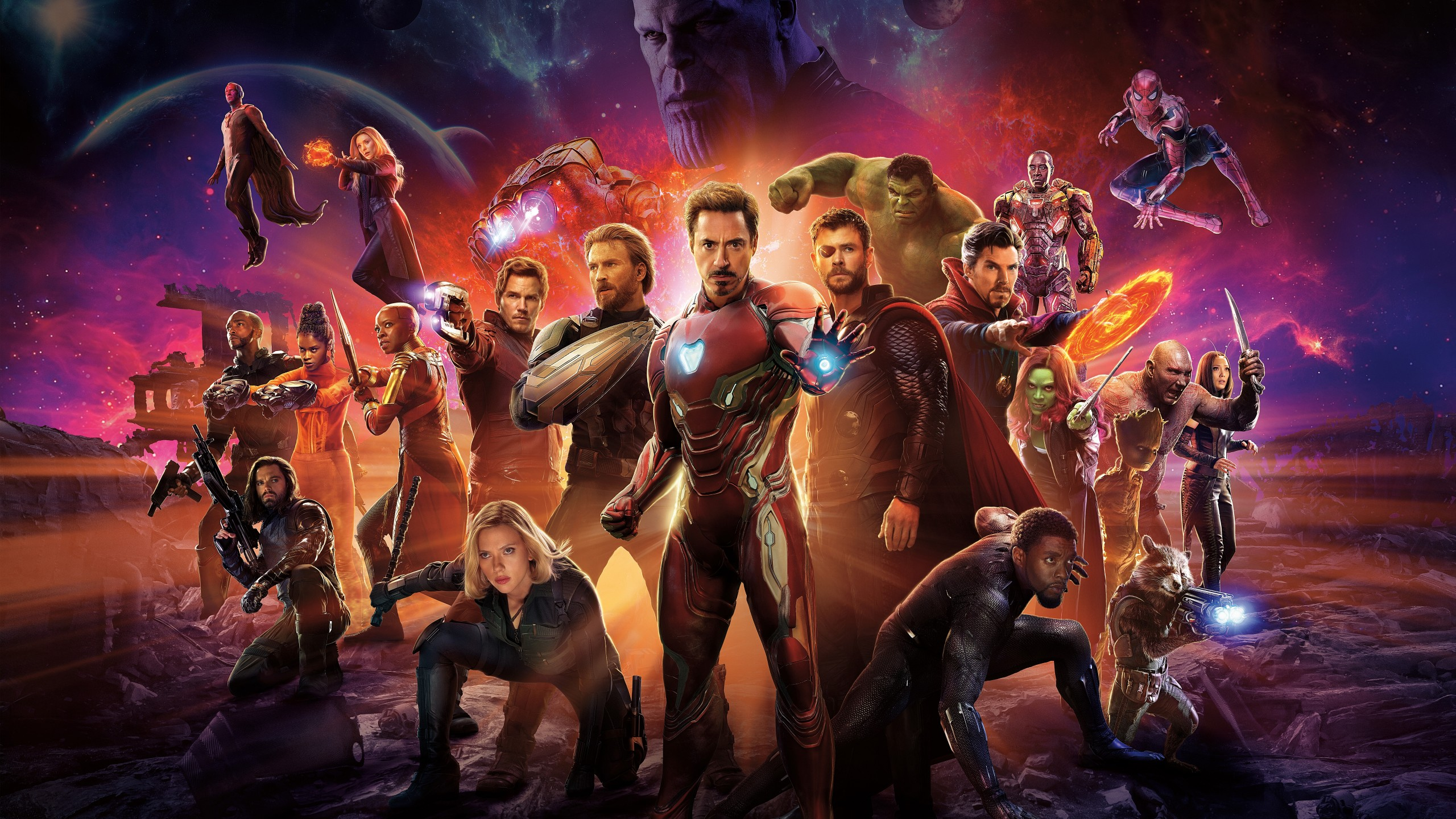 Superman Hd Wallpaper For Iphone 5 Avengers Infinity War Superheroes Cast 4k 8k Wallpapers