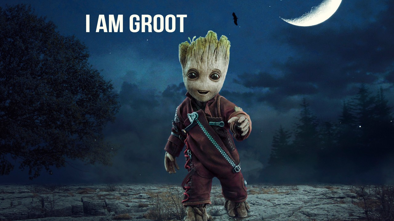 3d Wallpaper On Iphone 6s Baby Groot Wallpapers Hd Wallpapers Id 25853